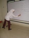 Dona in Mandarin Class