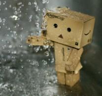 kehujanan