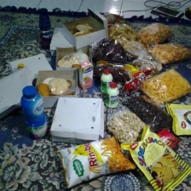Setiap hari kita punya makanan yang banyak :D