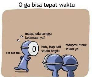 Yang terkadang emang suka telat kalo dateng yah Dona . :p